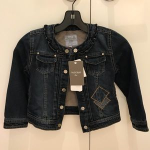 Mayoral Girls Lined Denim Jacket